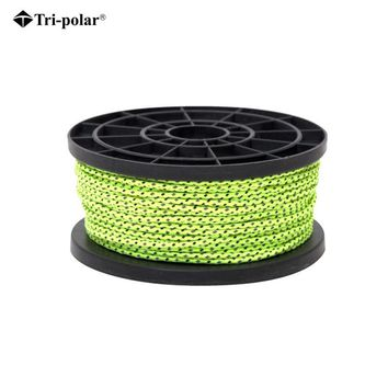 Tri-polar Rope Cord Reflective rope Survival Camping Equipment Camping Parachute Cord Paracord Rope Rock Climbing Rope Paracord