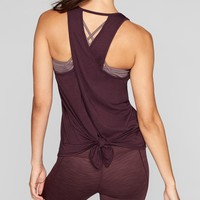 Essence Tie Back Tank | Athleta