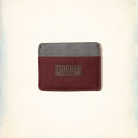 Logo-Patch Nylon Card Holder