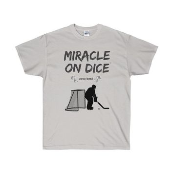 "VEGAS ""MIRACLE ON DICE""™ HOCKEY GOALIE (LIGHT COLORS) T-SHIRT"