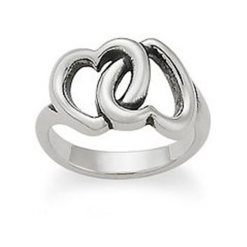 Linked Hearts Ring | James Avery