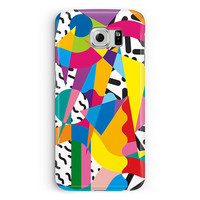 For Samsung Galaxy S7,  Samsung S7 Edge Cover, 90s Phone Case, 90s pattern Samsung Case, Retro S7 case, Gifts, Protective Case, 90s shirt
