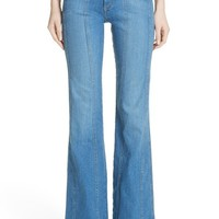 Veronica Beard Farrah Wide Leg Jeans (Boardwalk) | Nordstrom