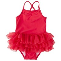 Circo® Infant Toddler Girls' Tutu 1-Piece Swimsuit