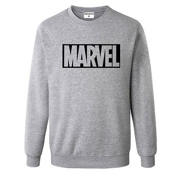 Marvel Sweatshirts Fashion Printed Sweatshirts