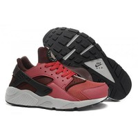 Men s Nike Air Huarache Shoes Cedar Black Deep Burgundy 318429 601