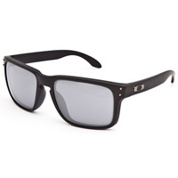 Oakley Holbrook Sunglasses Matte Black/Black Iridium One Size For Men 24792518201