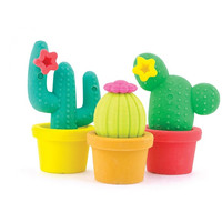 International Arrivals Prickly Pals Cactus Erasers