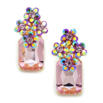 Paris Rose Bouquet Earrings