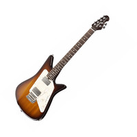 Ernie Ball Music Man Albert Lee Signature HH Electric Guitar - Tobacco Sunburst at Hello Music
