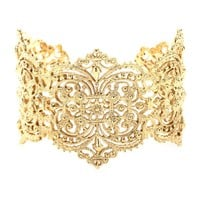 IAM by Ileana Makri - CHANTILLY LACE CUFF BRACELET
