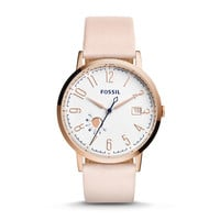 Vintage Muse Blush Leather Watch