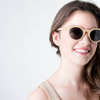 Fashion Wooden & Bamboo Sunglasses - Wood Sunglasses - Wood Eyewear - Retro Personalized Sunglasses