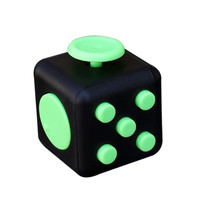 12 colors Magic Fidget Cube a vinyl desk toy 2017 New Fidget Cube anti irritability toy magic cobe Funny Christmas gift stock
