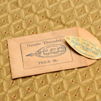 Vintage Needle Threader in Sealed Envelope