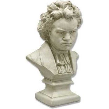 Beethoven Composer Bust with Shirt, Grande 26H - 7658