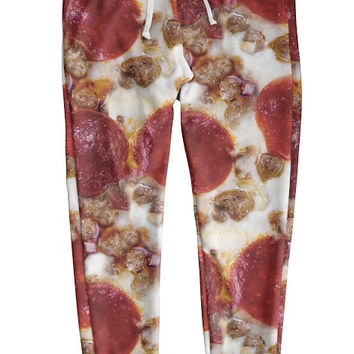 Meat Lover's Pizza Joggers