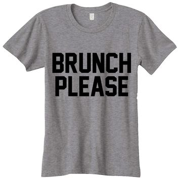 Brunch Please Womens Graphic Tee