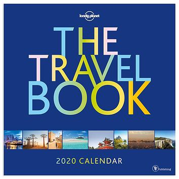 The Travel Book - Lonely Planet Wall