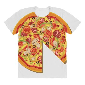 pizza dad All Over Women's T-shirt
