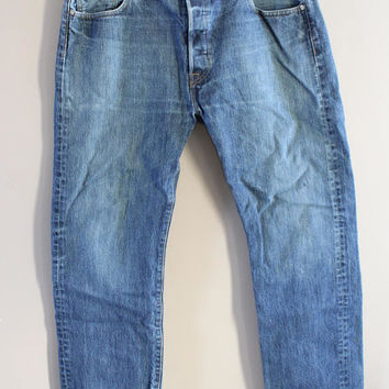 Levi's 501 W36 Vintage Levi's Jeans High Waist Mom Jeans Boyfriend Button Fly Hipster Boho #P043A