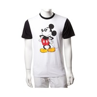 Mens Vans Mickey Mouse Color Block Tee