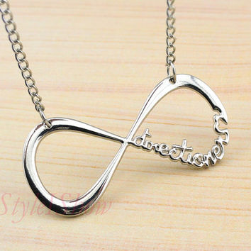 Friendship NecklaceInfinity necklace One Direction by IStyleIShow