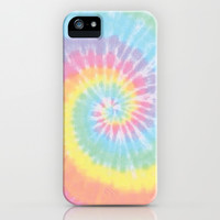 Pastel Tie Dye iPhone & iPod Case by Kate