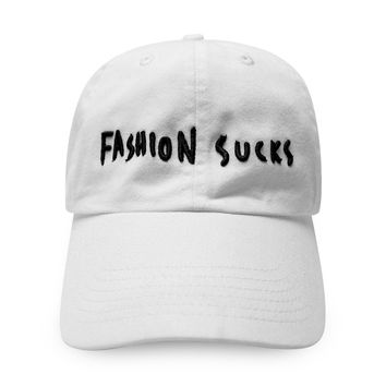 424 x Sean From Texas Fashion Sucks Cap White