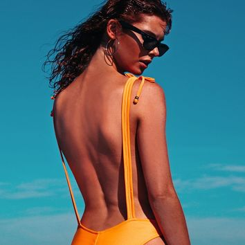Robb and Lulu Jungle Jane - Orange One Piece