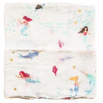 Mermaid Adventures Swaddle