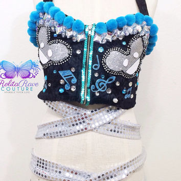 Deadmau5 costume edc rave clothing edm rave attire wear