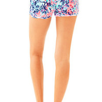 """4"""" Robyn Printed Velour Lounge Short 