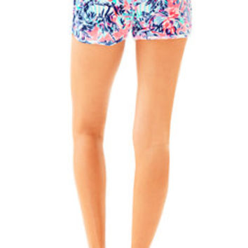 "4"" Robyn Printed Velour Lounge Short 