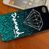 Glitter Diamond Supply Co iphone /4s/5/5C , samsung galaxy s3/s4 and ipod touch 4/5 cases