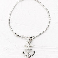 Vivienne Westwood Ceto Bracelet in Silver - Urban Outfitters