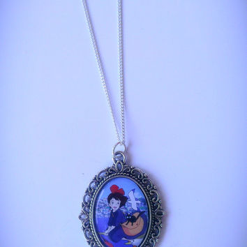 Kiki's Delivery Service Cameo Necklace