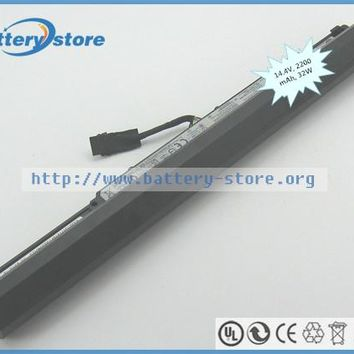 Genuine laptop batteries for L15L4A01,IdeaPad 100 15-IBD 80QQ,TianYi100-14,L15S4E01,100-15IBD(80QQ002AGE),14.4V,4 cell