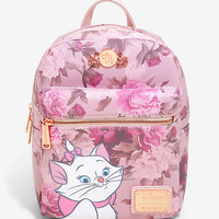 Loungefly Disney The Aristocats Marie Floral Mini Backpack - BoxLunch Exclusive