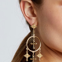 Star-Crossed Lovers Drop Earrings
