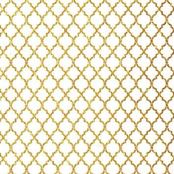 Gold Pattern Backdrop - 3564