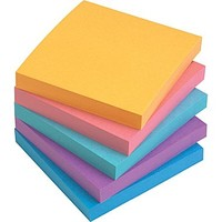 Staples® Stickies™ 3 x 3 Assorted Bold Notes, 12/Pack
