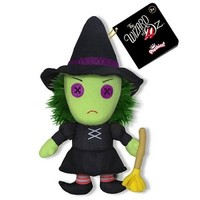Wicked Witch of the West - Wizard of Oz  - Plushy Plush - Tofufu Shop • Tofufu = Toys + Fun + More Fun!