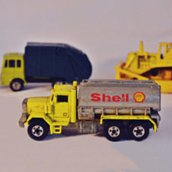 1979 Hot Wheels Peterbilt Shell Truck, Vintage Hot Wheels, Majorette, Maisto, Collectible Toy Cars