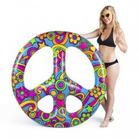 Peace Sign Pool Float