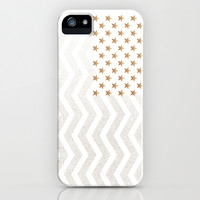 GATSBY Stars & Stripes iPhone & iPod Case by Monika Strigel