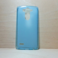LG G3 Vigor / g3 s / g3 mini / g3 beat Soft TPU translucent Color Case Protective Silicone Back Case Cover - Blue