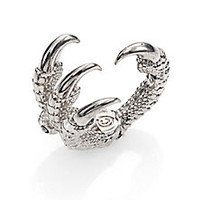 Alexander McQueen - Skull Claw Ring - Saks Fifth Avenue Mobile