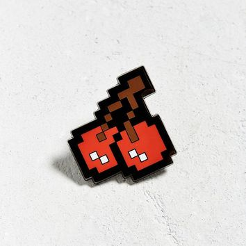Pac-Man Cherries Pin | Urban Outfitters