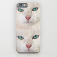 WHITE DELIGHT iPhone & iPod Case by Catspaws